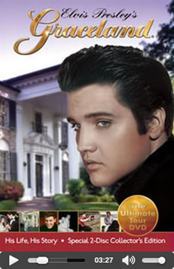 Elvis Presley's Graceland: The Ultimate Tour 2-Disc Collector's Edition DVD.