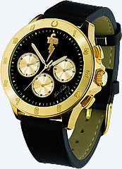 Elvis Presley Bellagio™ TCB Gold 'Lucky Horseshoe' Chronograph Watch