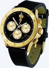 Elvis Presley Bellagio™ TCB Gold 'Lucky Horseshoe' Chronograph Watch