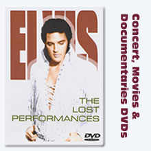 Elvis Presley DVDs