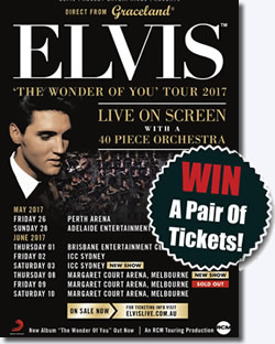 WIN a pair of tickets to to 'The Wonder Of You' Tour of Australia.