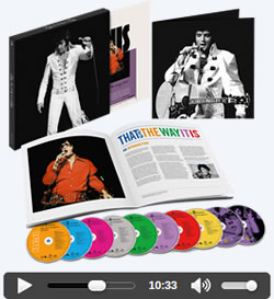That's The Way It Is Deluxe Edition 8 CD / 2 DVD Set.