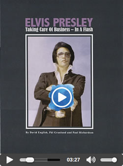 Elvis : 'Taking Care Of Business - In A Flash' Hardcover Book and CD.