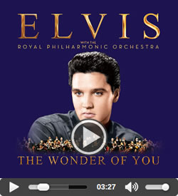 Elvis : 'A Hunk O Love Elvis Presley With The Royal Philharmonic Orchestra' CD.