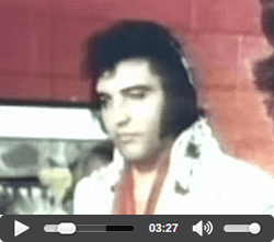 Elvis Home Movies The Seventies DVD.