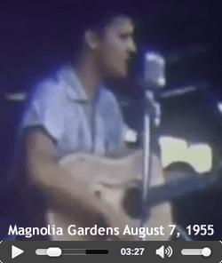 Elvis Presley Magnolia Gardens August 7, 1955