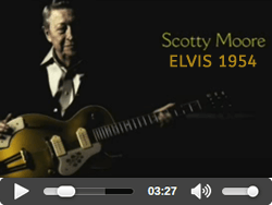Scotty Moore, Elvis 1954