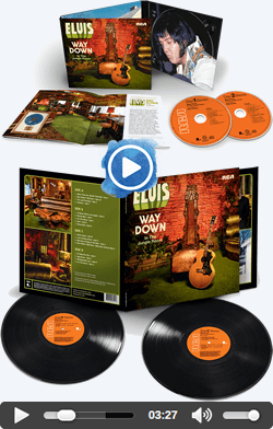 'Elvis : Way Down In The Jungle Room' Sony Legacy 2 CD Release
