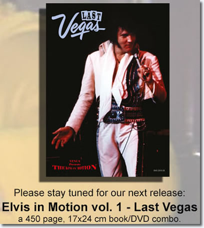 Elvis In Motion Book / DVD from Venus