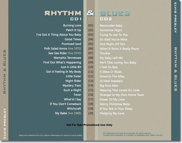 Rhythm & Blues : Memphis Style : 2 CD Set.