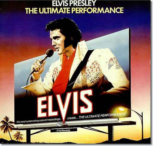 Elvis Presley : The Ultimate Performance CD.