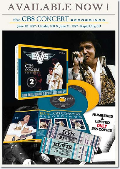 The CBS Concert Recordings 2 CD from GravelRoard