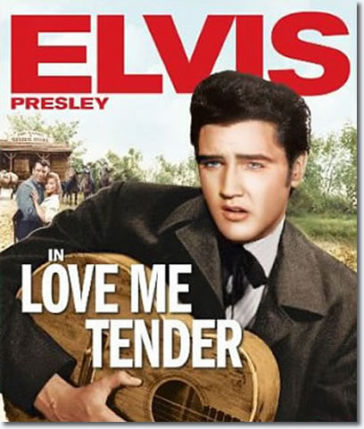 Love Me Tender Colorized Special Edition : Elvis Presley DVD