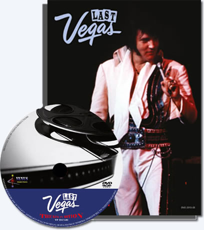 Elvis In Motion : The Last Vegas DVD & Book Set from Venus Productions.