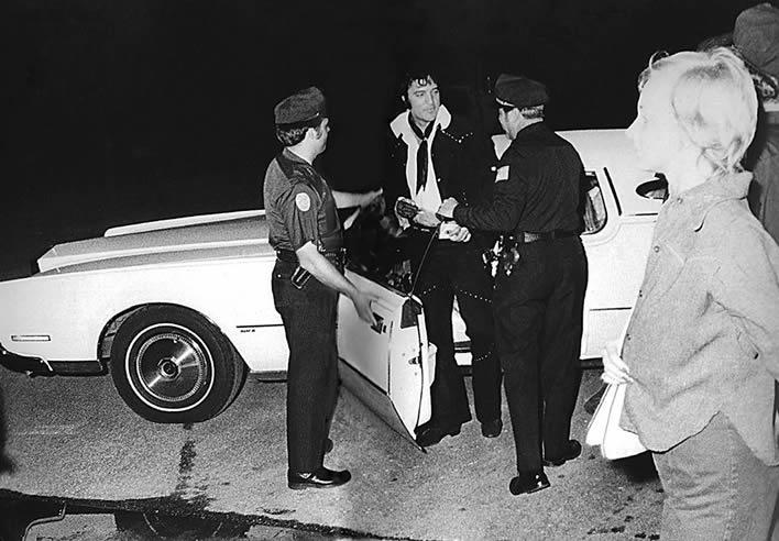 Elvis Presley | Memphis Southmen's football season opener | July 10, 1974