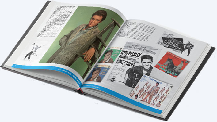 Elvis In Paris Deluxe Limited Edition Hardcover Book Set.